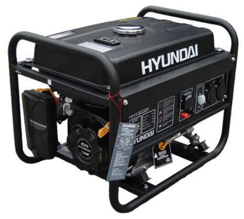 Генератор бензиновый HYUNDAI HHY 3000F 3 кВт однофазный