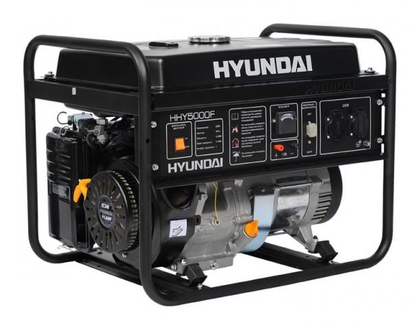 Генератор бензиновый HYUNDAI HHY 5000F 4,4 кВт однофазный