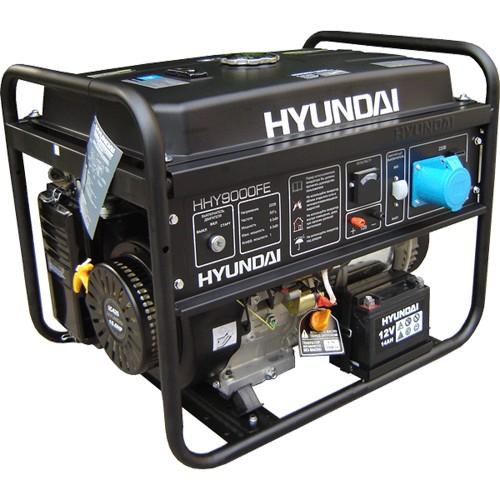 Генератор бензиновый HYUNDAI HHY 9000FE 6,2 кВт