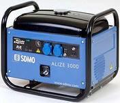 Генератор бензиновый SDMO Alize 3000 2,8 кВт однофазный