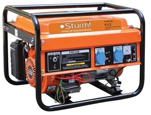 Бензогенератор Sturm PG8722E