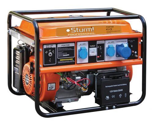 Бензогенератор Sturm PG8755E