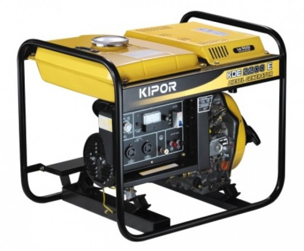 Генератор дизельный Kipor KDE 2200E 2 кВт