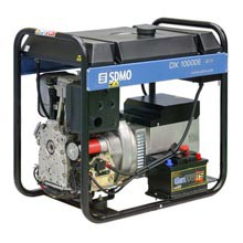 Генератор дизельный SDMO Diesel 10000 E-XL 9 кВт однофазный
