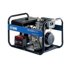 Генератор дизельный SDMO DX 6000E 5,2кВт однофазный