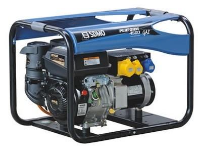 Генератор газовый SDMO Perform 4500 GAZ 4 кВт однофазный