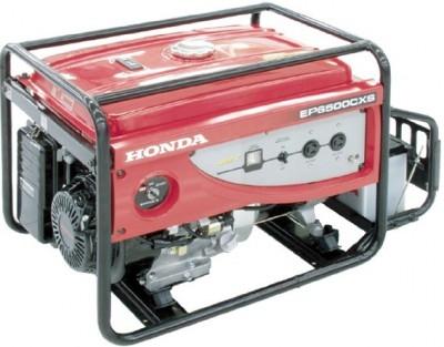 Генератор Honda EP 6500 CXS новый в упаковке бензиновый однофазный 220В Номинальная мощность 5кВт