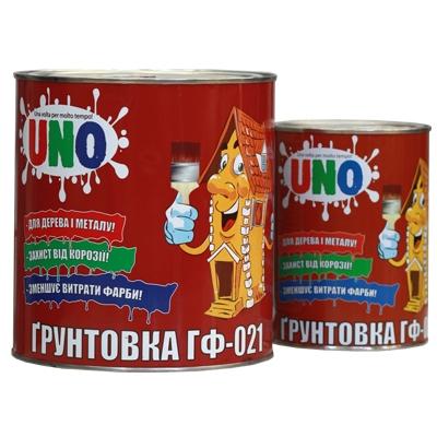 ГФ-021 UNO грунтовка алкидная