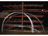 Фото  3 Осуществляем гибку профильной трубы по радиусу для каркасов теплиц козырьков, навесов, авто парковок. 3444082