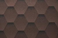 Гибкая черепица Ruflex Mint Темный шоколад.