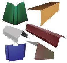 Гибочные элементы для оформления кровли и заборов (торцевая планка, конек, п-подобная планка, снегодержатель, капельник)