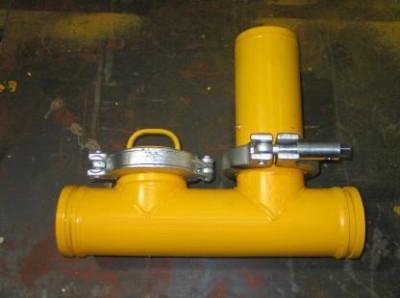 Гидравлическая задвижка (гидрозатвор) Ю. Корея, ручной привод, рабочее давление 85 bar.