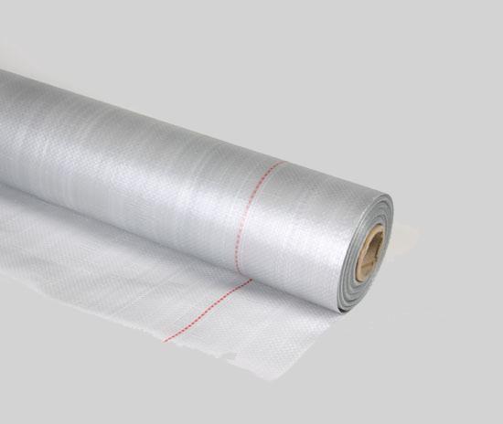 Гидро-/пароизоляцион ная плёнка 100 Silver прозрачная;100 г/кв. м