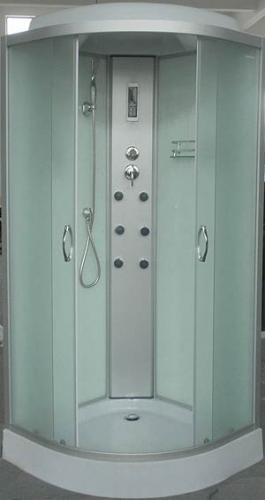 Гидробокс AquaStream Classic 110 LW. 100х100х217 гидромассаж, массаж ног, верхний и ручной душ, зеркало, полочка