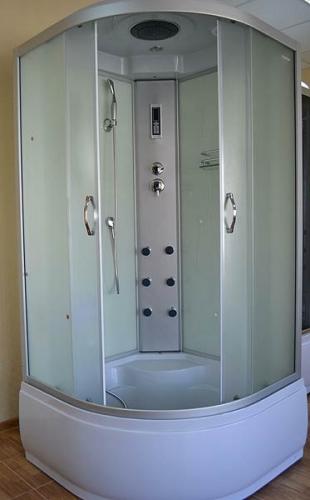 Гидробокс AquaStream Classic 99 HW 90х90х217 Гидромассаж, массаж ног, верхний и ручной душ, зеркало, полочка