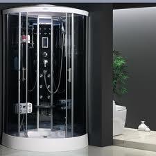 Гидробокс ATLANTIS AKL 2203BB Габариты: 103*103*218 Задние стенки: синее зеркальное стекло;