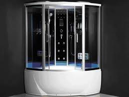Гидробокс SERENA SE-32126 G 90*90*215 см, переднее тонированное стекло 5 мм, заднее 4 мм с пленкой