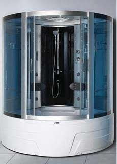 Гидробокс SWD 1818 с джакузи, двухместный Размер 150х150х215 см Глубокий поддон 49 см