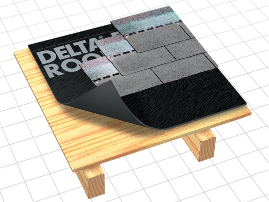 Гидроизоляционная плёнка DELTA-ROOF; 220 г/кв. м.