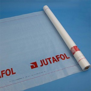 Гидроизоляционная плёнка Гидробарьер JUTA;110 г/кв. м/