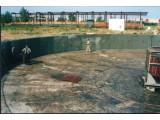 Гидроизоляция очистных сооружений, септиков материалами проникающего действия Hygrostop