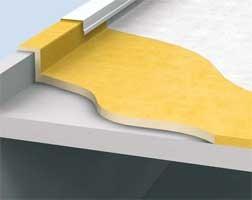 Гидроизоляция твердых плоских крыш с монолитным основанием пенополиуретан ППУ Elastospray