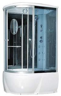 Гидромассажная кабина Miracle F76-3 L, R /RZ (120х85 см) Размер: 120x85х215 см Поддон глубокий