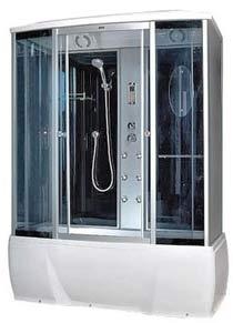 Гидробокс Sansa Z002/RZ (90х90 см) Размер: 90x90x220 см Поддон глубокий 42 см. , белый с радио