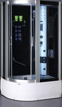 Гидромассажные боксы SWD 1806 L и 1807 R с сенсором Размер 120х85х215 см Глубокий поддон 42 см левый, правый