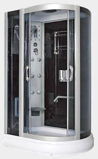 Гидромассажный бокс Caribe F021 L/R (120х82 см) Размер: 120x82х215 см Поддон мелкий