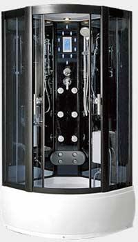 Гидромассажный бокс Caribe HQ040/RZ (120x120 см) Размер: 120x120х215 см Поддон глубокий