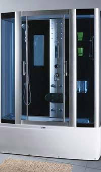 Гидромассажный бокс SWD 1808 с сенсором Размер 150x85x215 см Глубокий поддон 42 см