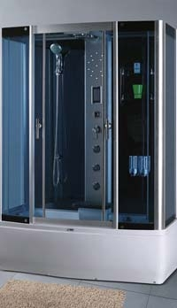 Гидромассажный бокс SWD 1813 с сенсором Размер 150x85x225 см Глубокий поддон 45 см