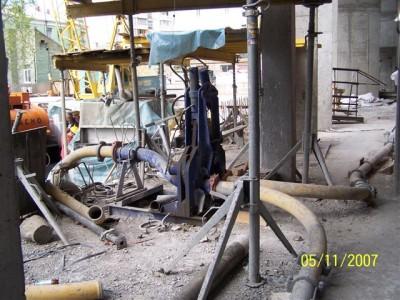 Гидрораспределитель бетонных потоков, Италия, ручной привод рабочее давление 110 bar.