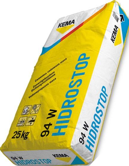 Гідростоп-94 мінеральна жорстка гідроізоляція підвальних приміщень, балконів і басейнів