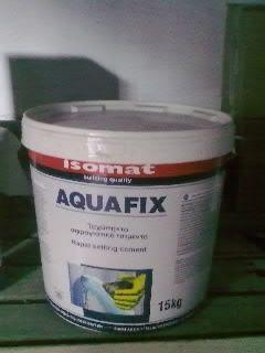 Гидроцемент для аварийной остановки воды Аквафикс