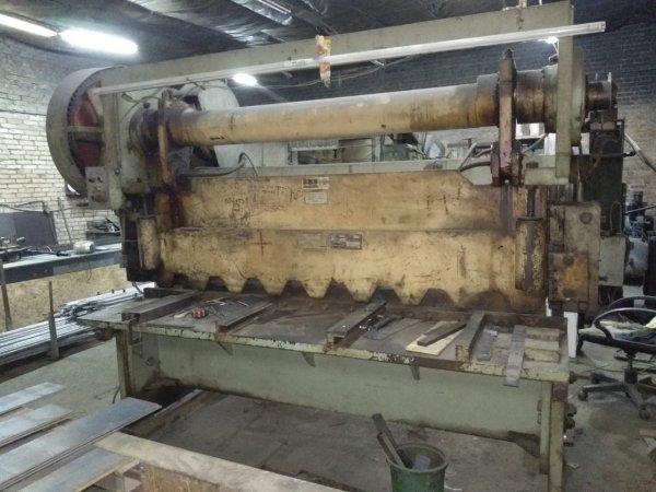 Фото 1 Ножницы гильотинные НА3121 для обработки листового металла 337760