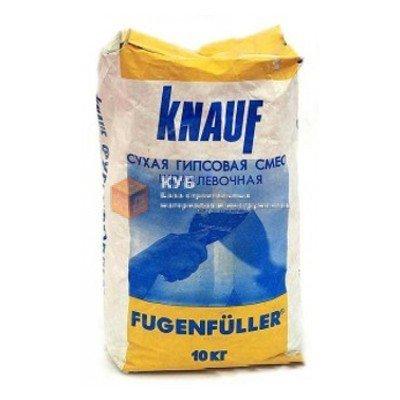 Фото  1 Гипсовая шпаклевка для швов Кнауф Фугенфюллер (Knauf Fugenfuller) (10 кг) 1749755