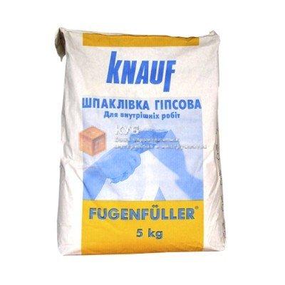 Фото  1 Гипсовая шпаклевка для швов Кнауф Фугенфюллер (Knauf Fugenfuller) (5 кг) 1749756