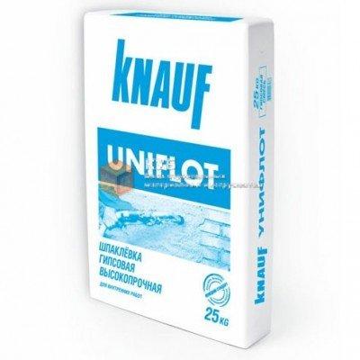 Фото  1 Гипсовая шпаклевка для стыков Кнауф Унифлот (Knauf Uniflott) (25 кг) 1750056