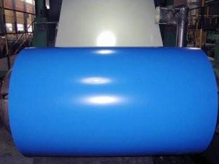 Гладкий лист с цветным полимерным покрытием 1250х0,40 (длина любая)