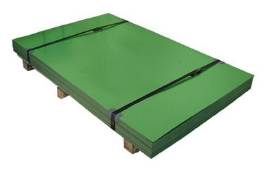 Гладкий лист с цветным полимерным покрытием 1250мм - 0,35 (длина любая)