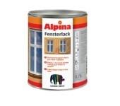 Глянцевая эмаль для дверей окон Alpina FENSTERLACK. для наружных и внутренних работ. Стойкая к воздействию чистящих.
