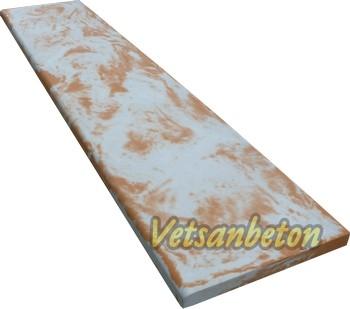 Глянцевые бетонные подоконники