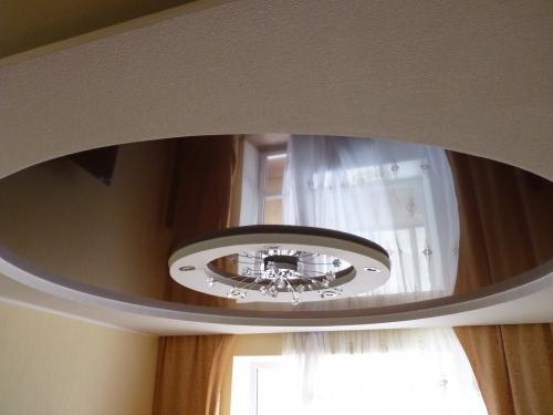 Глянцевые (лаковые) натяжные потолки