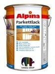 Глянцевый паркетный лак Alpina PARKETTLACK GLAENZEND