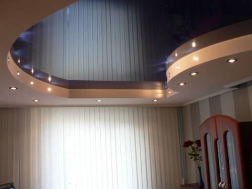 Глянцевой Натяжной потолок