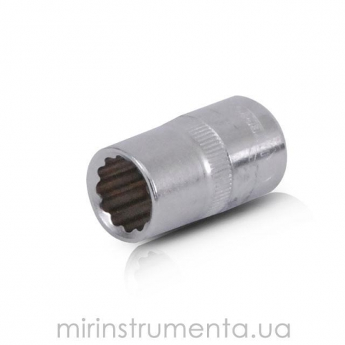 Головка 12гр., 1/2, 14мм INTERTOOL ET-0214