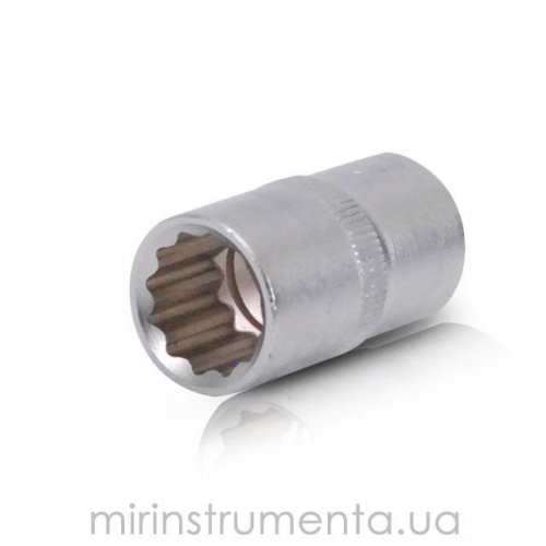 Головка 12гр., 1/2, 16мм INTERTOOL ET-0216
