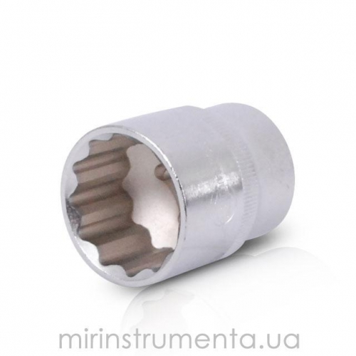Головка 12гр., 1/2, 27мм INTERTOOL ET-0227
